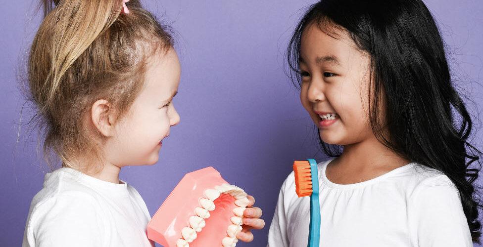 Kids Developing Teeth